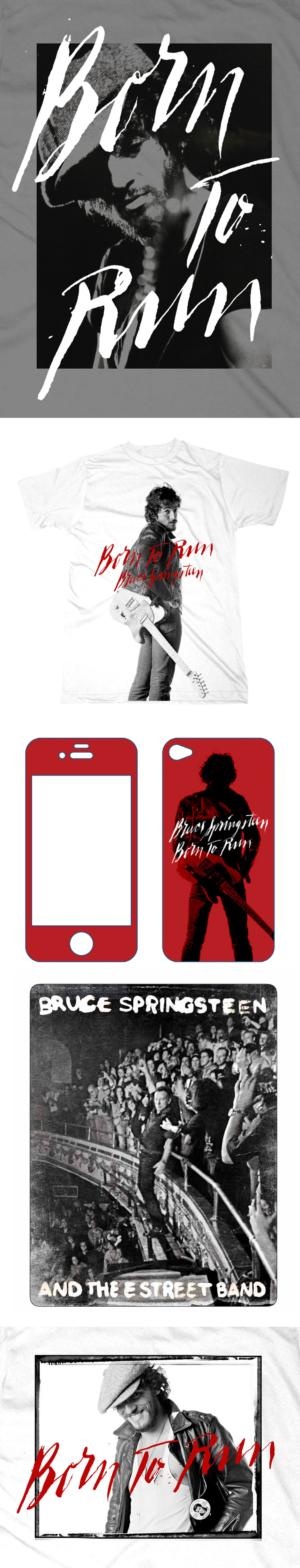 Shirts, iPhone and iPad cases