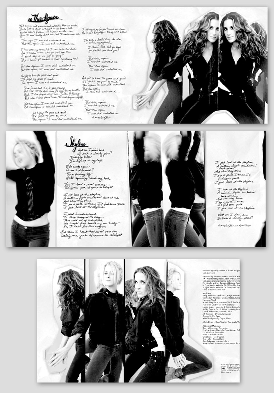 Deluxe booklet spreads
