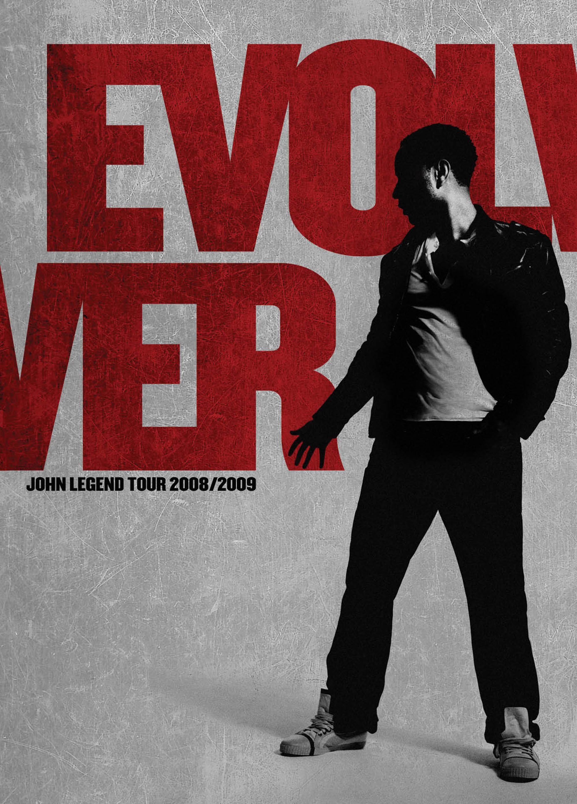 John Legend Evolver tour book | michelleholme.com