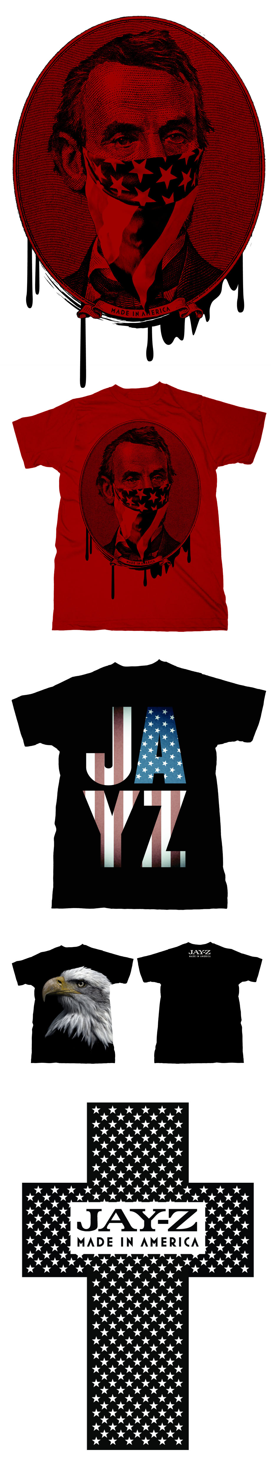 JAY-Z merch for Made in America festival | cfeldmann.com Jay Z