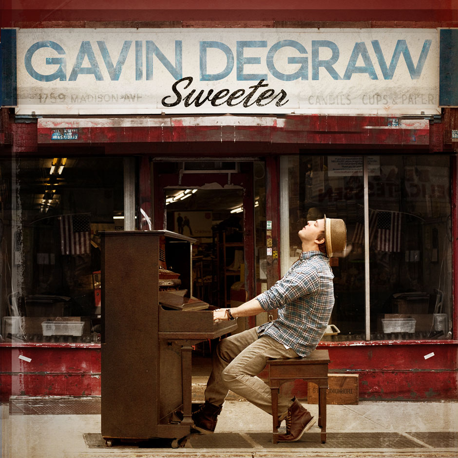 Gavin DeGraw Sweeter single