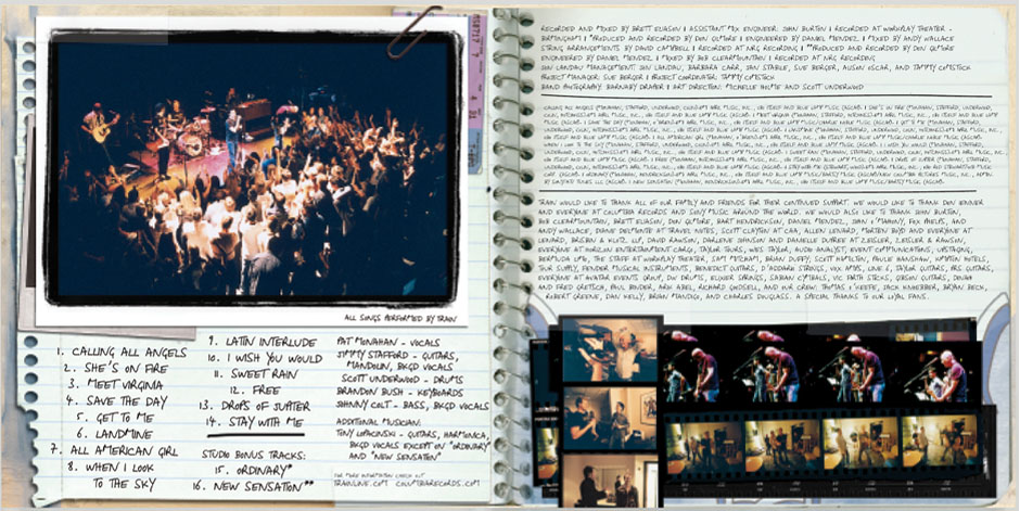Booklet spread