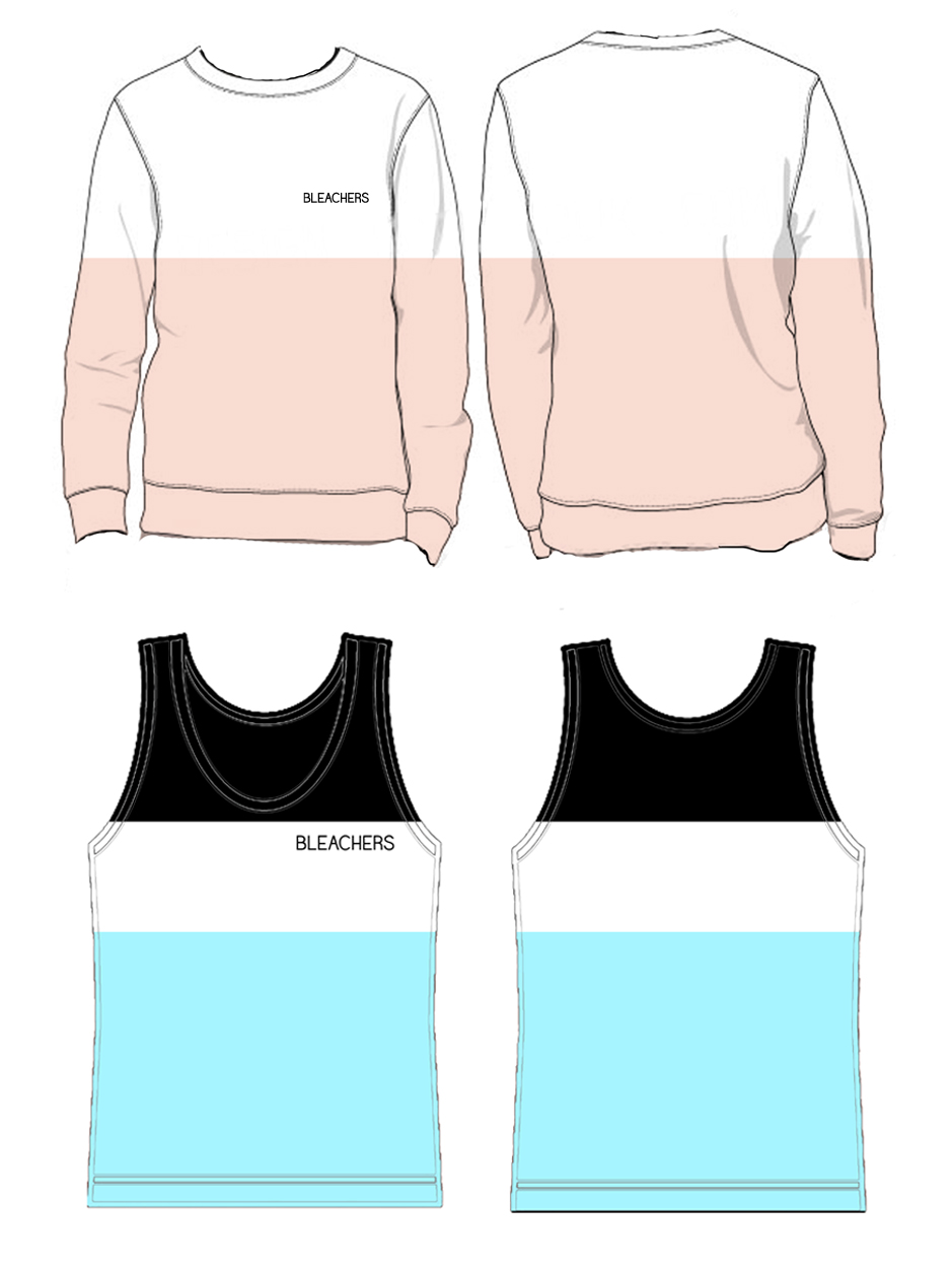 Sweatshirt and tank