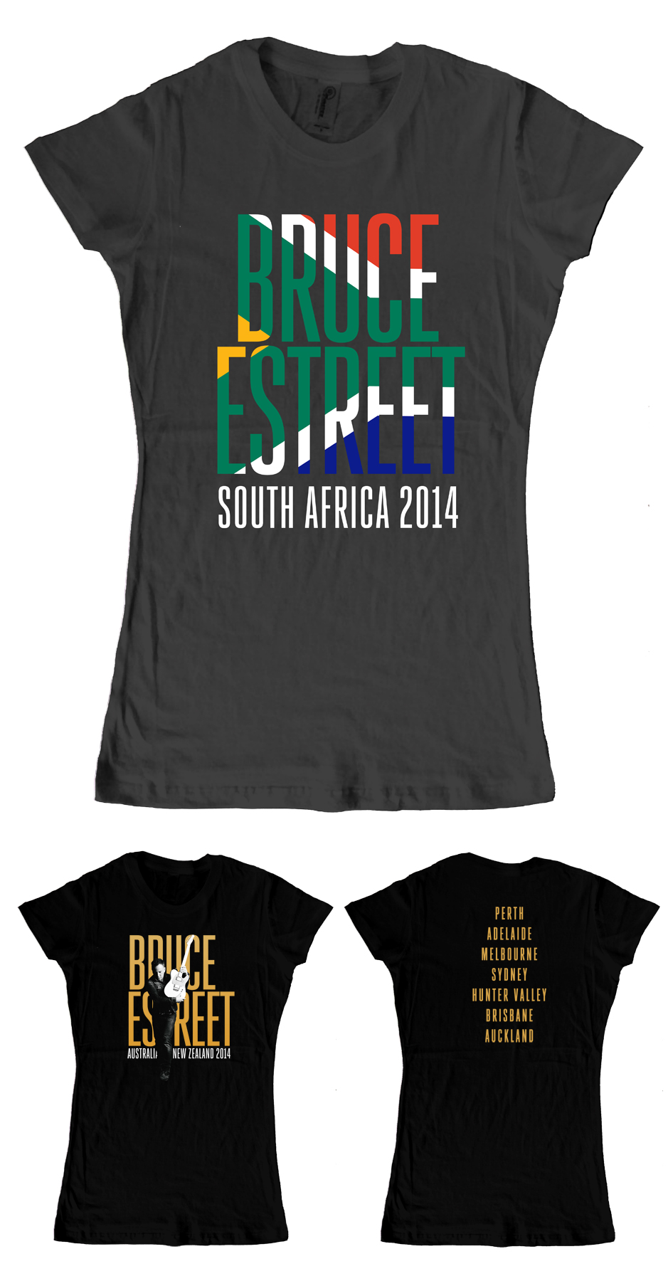 South Africa tees