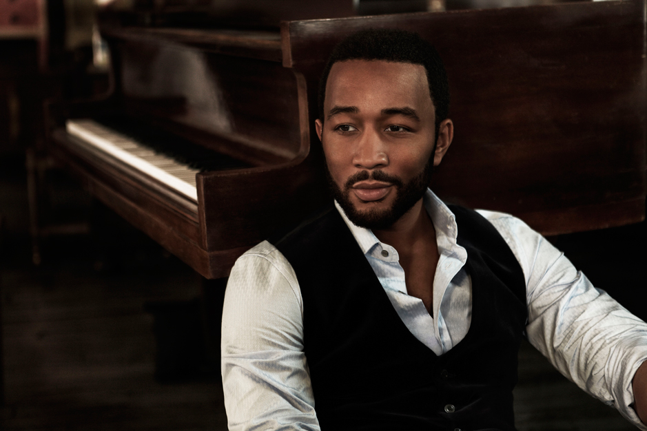 John Legend and the Roots shoot. Photography: Anthony Mandler, Styling: David Thomas (JL) / Rebecca Pietri (The Roots)