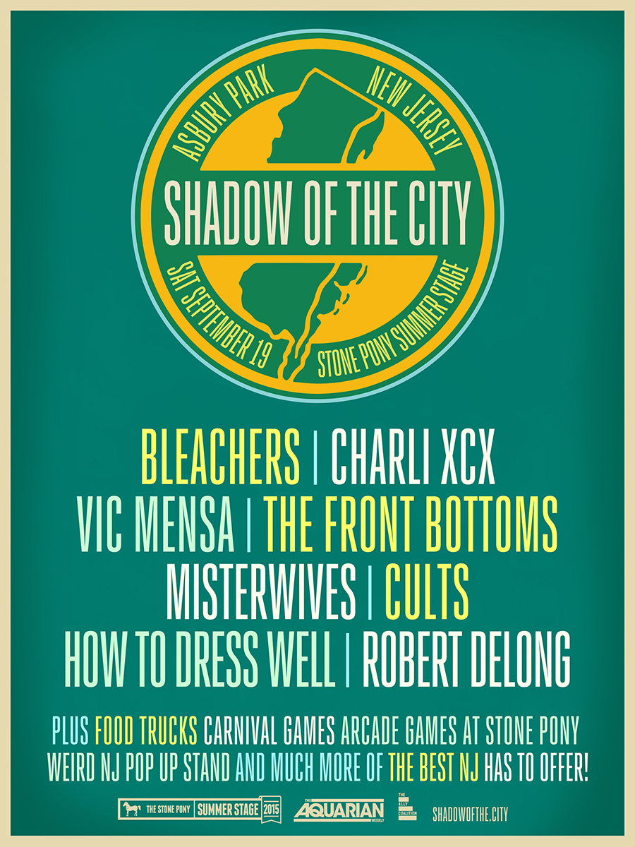 Shadow of the City festival poster